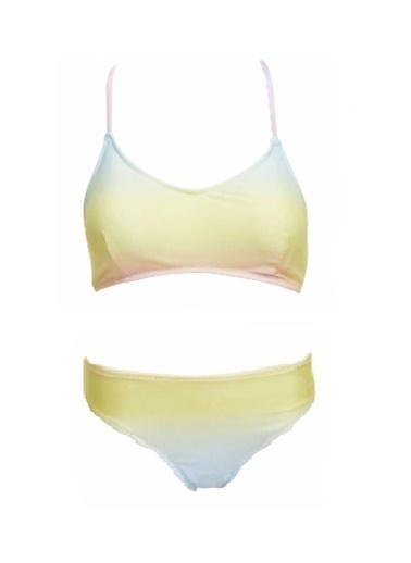 Deep Beach Degrade Desenli Bikini Altı Renkli